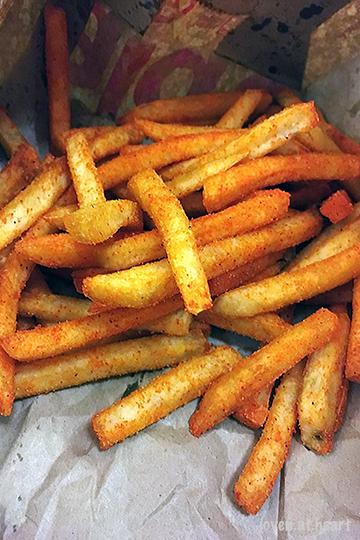 McDonald's Kimchi Shaker Fries