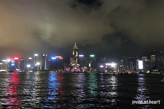 Hong Kong Night View