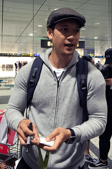 Harry Shum Jr in Singapore 2017