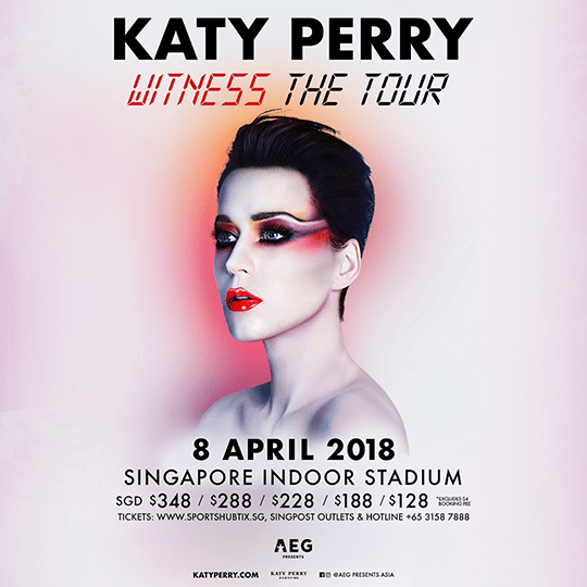 Katy Perry WITNESS The Tour 2018 Singapore