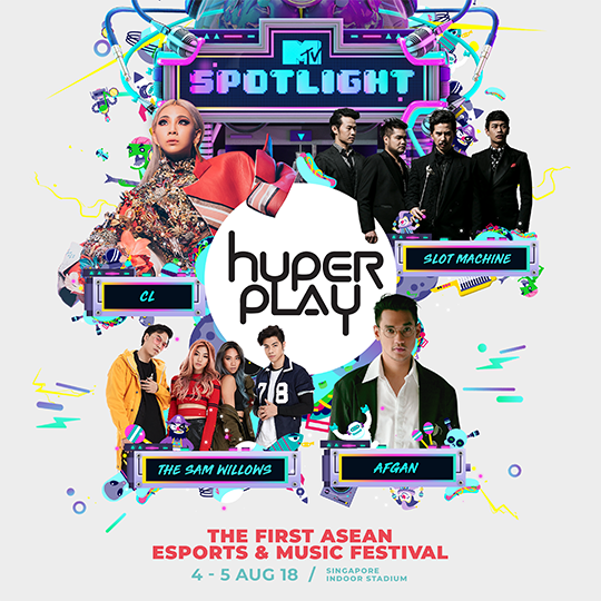 Hyperplay 2018 poster