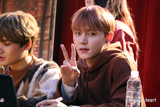 Hyunwoong 14U @ Mullae Fansign