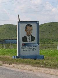 Monumento a Antonio Guiteras Holmes, cerca de La Habana, Cuba