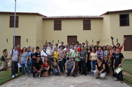 En memoria a Antonio Guiteras los participantes le rendimos tributo.