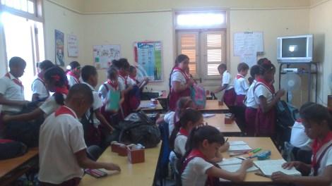 Niños en el Cuartel Moncada