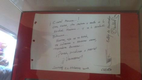 Mensaje Hugo Chávez