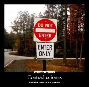 contradiction_contradiccion