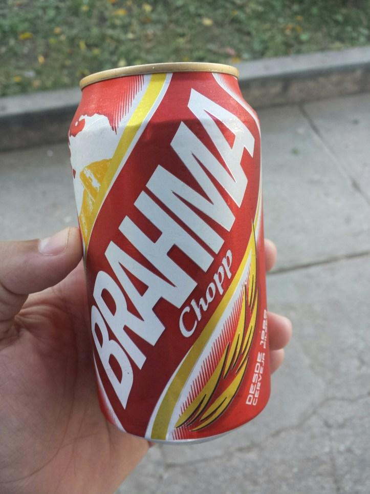 A 12 pesos moneda nacional la cerveza Brahma es una buena opción.