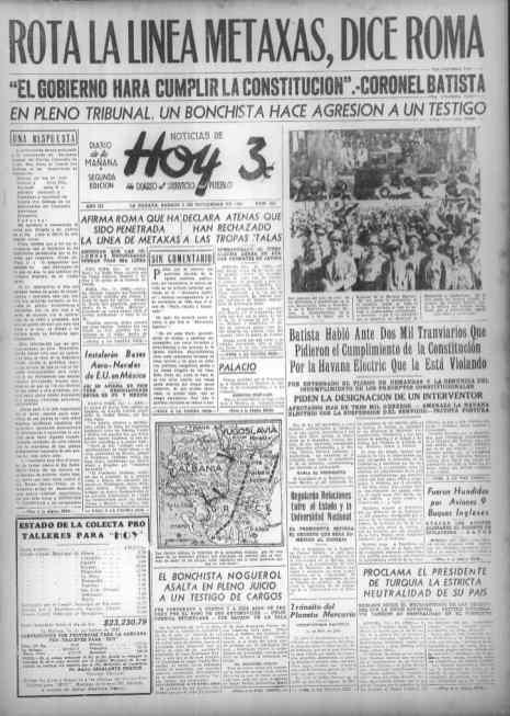 El periódico explica por municipios el estado de la colecta para su taller.