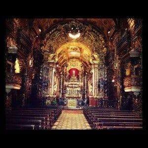 Mosteiro de São Bento no Rio de Janeiro
