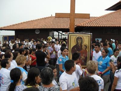 Réplicas dos  SÍMBOLOS DA JORNADA MUNDIAL DA JUVENTUDE - Rio 2013