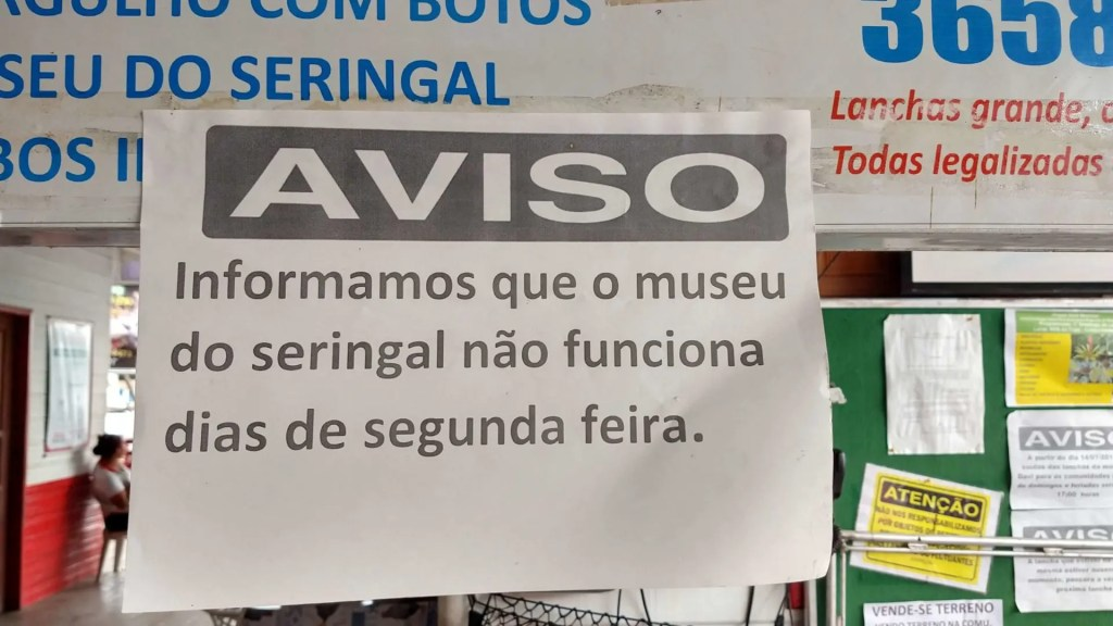 Manaus/AM: Museu do Seringal