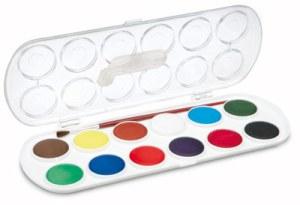 JOVI vesivärit 12 väriä