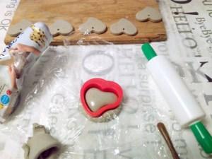 JOVI paperimassasta pullea sydän