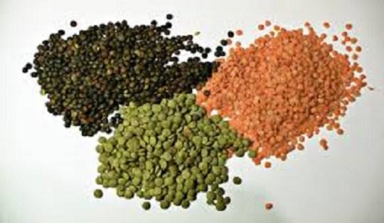 3 lentils