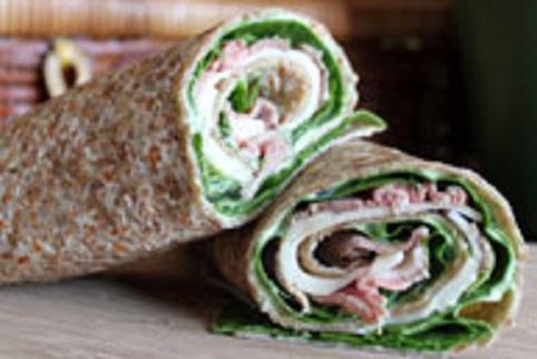 basil roast-beef-wrap