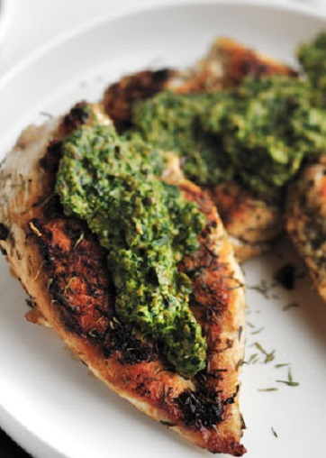 1. Sauteed Chicken Breasts with Salsa Verde