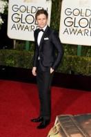 Eddie Redmayne in Gucci