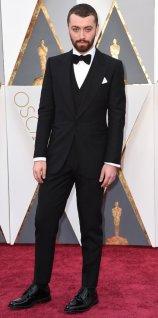 Sam Smith in Dunhill Tuxedo