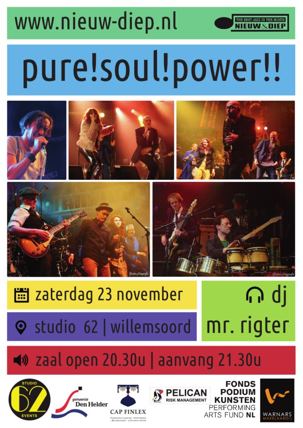foto: Poster Pure!Soul!Power!!