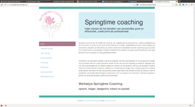 foto: Springtime coaching