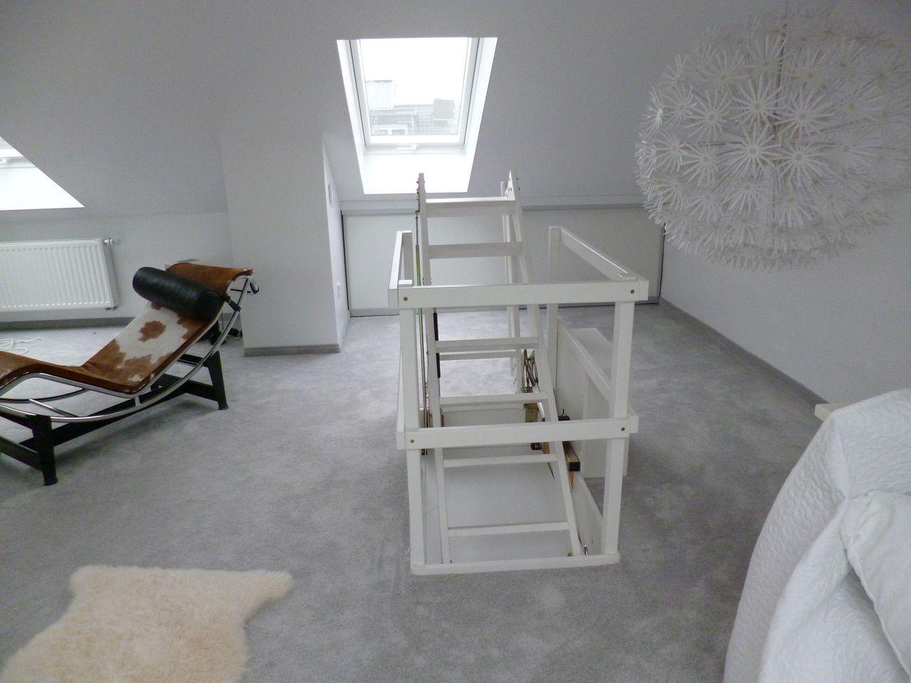 gallery of dachtreppe aluminium treppen dach etanco dachbodentreppe