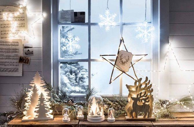 Comment décorer la pièce à la nouvelle année sans arbre de Noël