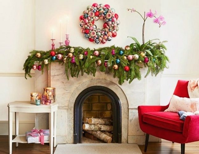 Oda bir Noel ağacı olmadan yeni yıla nasıl dekore edilir