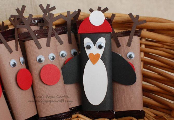 Penguins joulupaperi koristeet