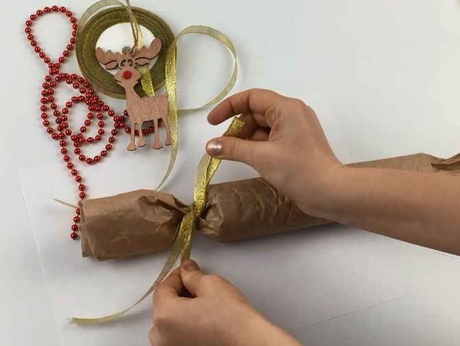 Emballage nytårs gave