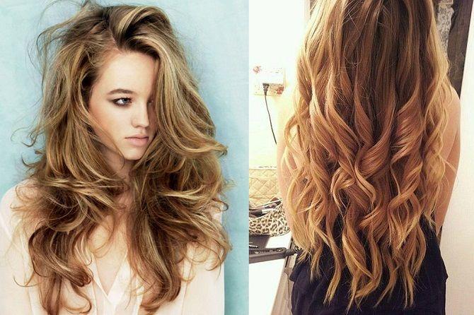 Curls deliciosos: 9 Métodos de ondulação em casa 1