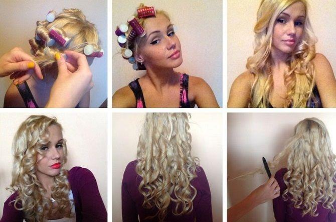 Curls deliciosos: 9 Métodos de ondulação em casa 18