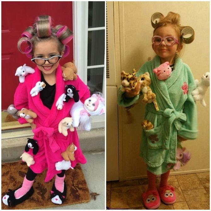 Trang phục Halloween với bàn tay của riêng bạn: Tùy chọn đơn giản và ngân sách cho cả gia đình 21