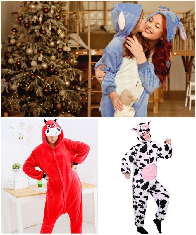 Komik, yaratıcı veya seksi: 2021 13'te ne tür bir yeni yıl kostümü seçti