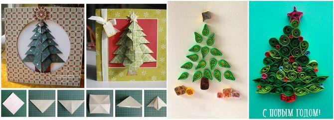 Создаем новогодние открытки своими руками: простые мастер-классы 14