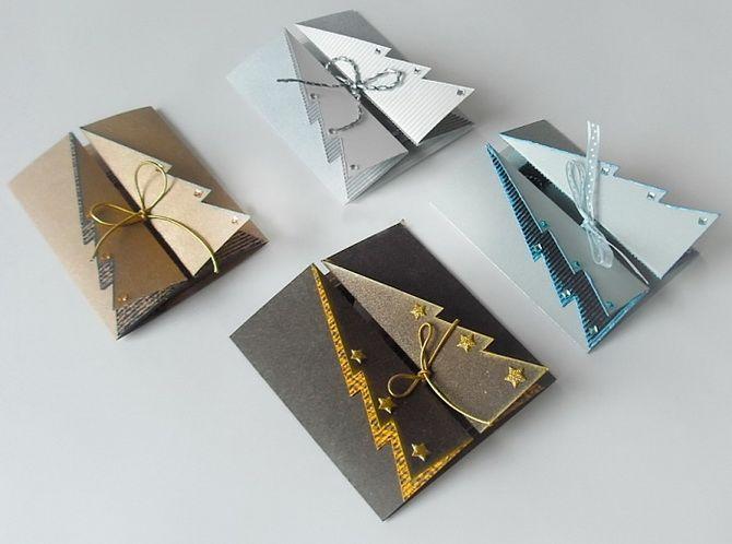 Өз қолыңызбен жаңа жылдық ашықхаттар жасаңыз: Қарапайым семинарлар 15