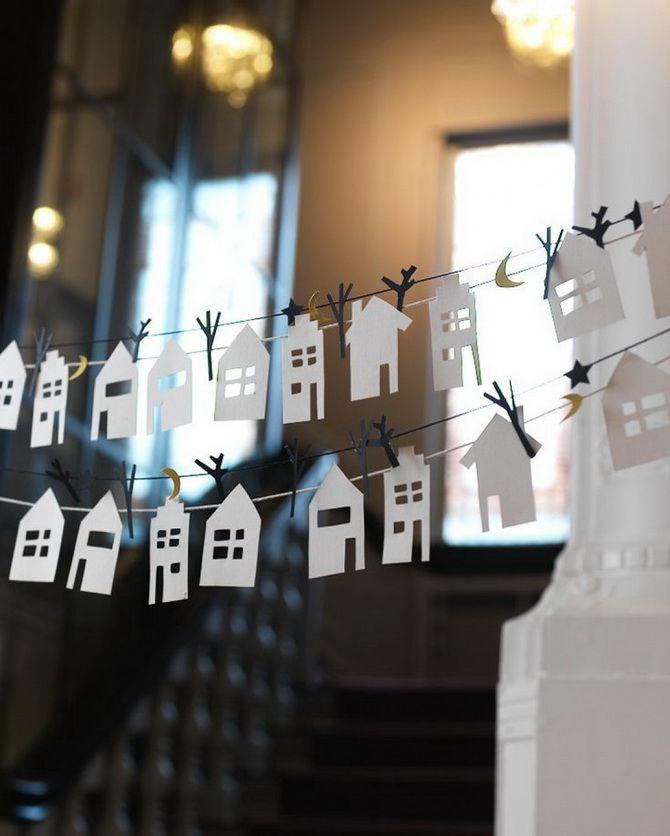 Новогодний домик – поделка своими руками 1