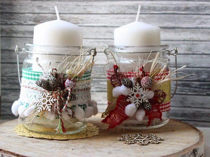 چگونه می توان شمعدان های سال نو را به خود اختصاص داد - بهترین ایده ها 1