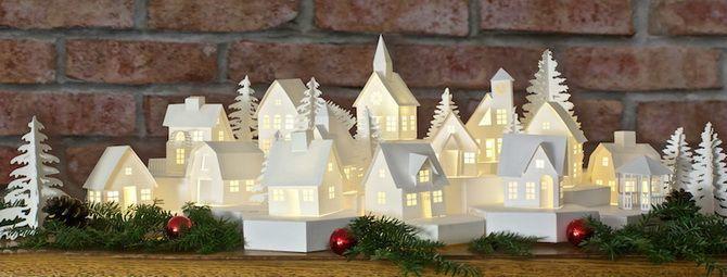 Новогодний домик – поделка своими руками 23