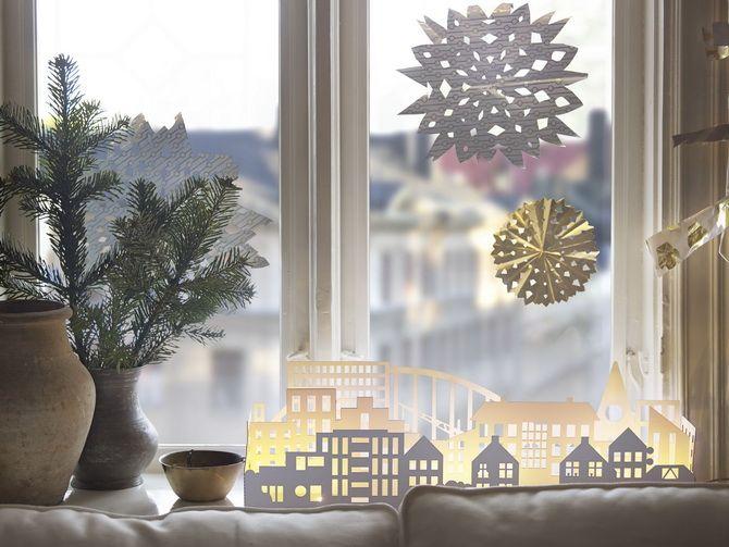 Жаңа жылдық үй - өз қолыңызбен қолөнер 10