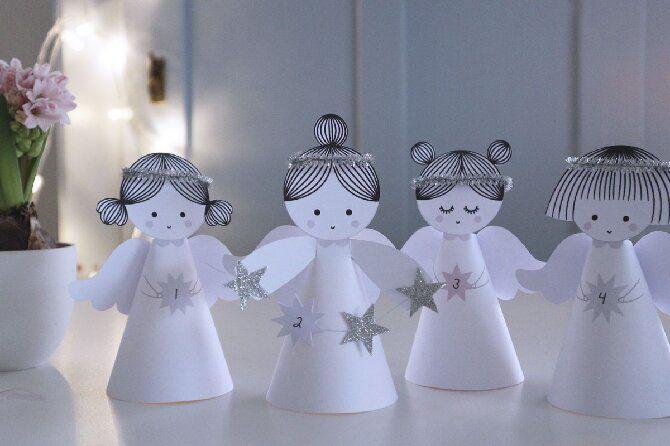 새해 천사는 자신을합니다 : 사진과 비디오의 간단한 마스터 클래스, Joy-Pust에서 아이디어를 선택하십시오.