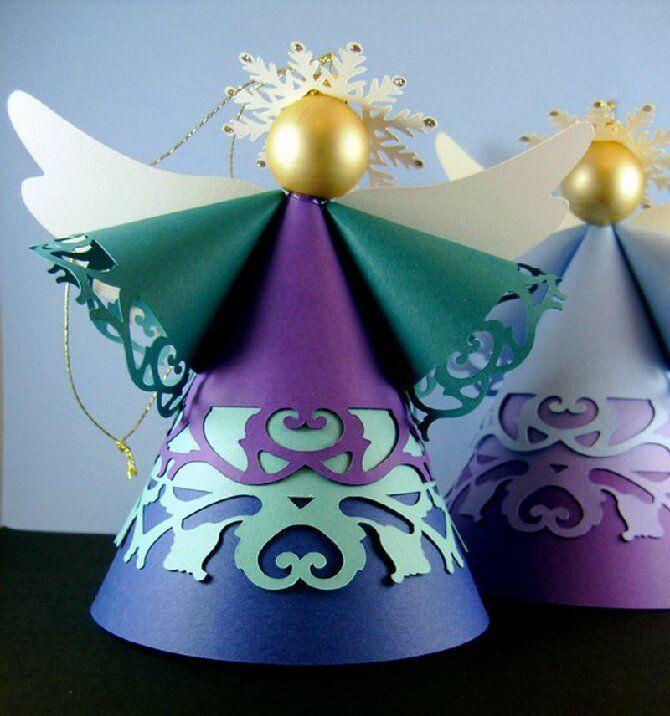 Новогодние ангелочки своими руками: простые мастер-классы на фото и видео, подборка идей от Joy-pup 16