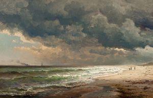 Long Island Beach by Mauritz de Haas (WikiCommons)