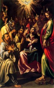 Pentecostes by Luis Tristan (WIkiMedia)