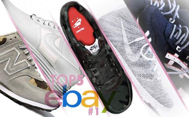 TOP 5 EBAY SNEAKERS #1