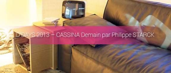 DESIGNER'S DAYS 2013 - D'DAYS 2013 CASSINA
