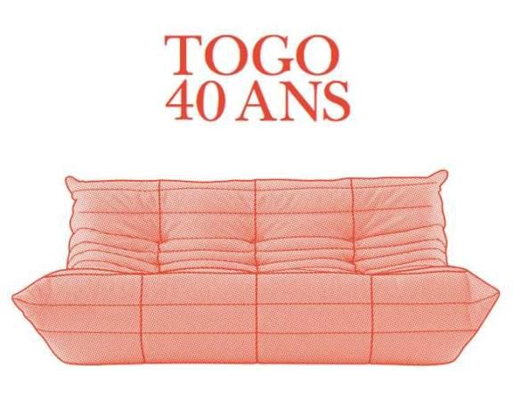 LIGNE ROSET célèbre les 40 ans du TOGO