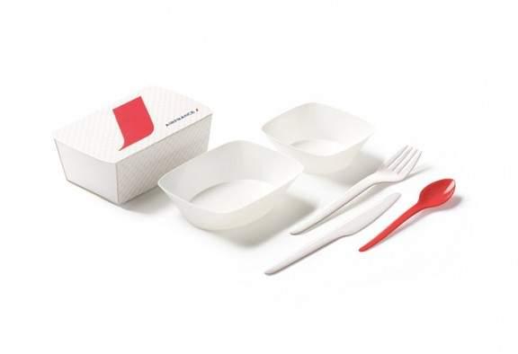 Eugeni QUITLLET imagine la nouvelle vaisselle d'AIR FRANCE