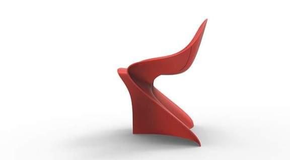 Chaise design FLAG par Mahdi NAIM
