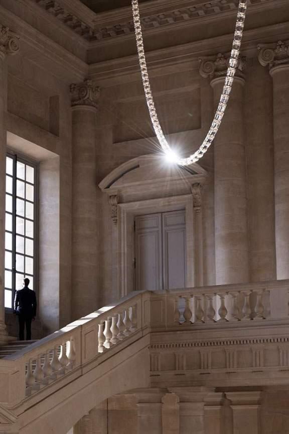 Lustre GABRIEL par Ronan & Erwan BOUROULLEC au Château de Versailles